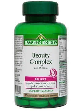 Beauty Complex with Biotina 60 comrpimidos from Nature's Bounty