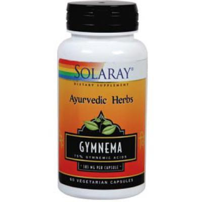 Gymnema 60 cápsulas 385 mg de Solaray