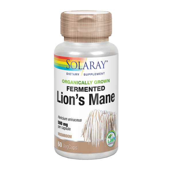 Lion's mane 500 mg 60 capsules of Solaray