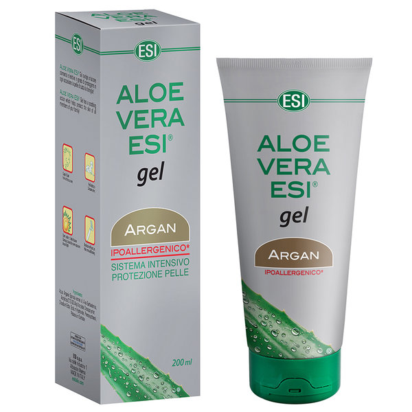 MOISTURISING GEL ALOE VERA AND ARGAN 300 ML / ESI