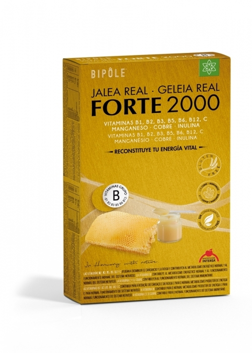 Bipole: Jalea Real forte 2000 mg 20 ampollas de Dietéticos Intersa