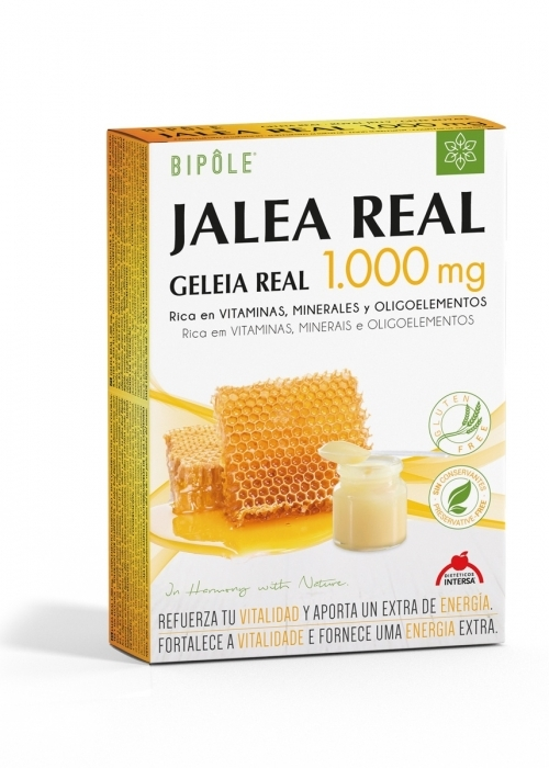 Bipole: Jalea Real 1000 mg 20 ampollas de Dietéticos Intersa