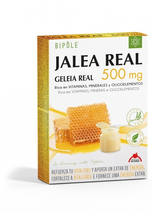 Bipole: Jalea Real 500 mg 20 ampollas de Dietéticos Intersa