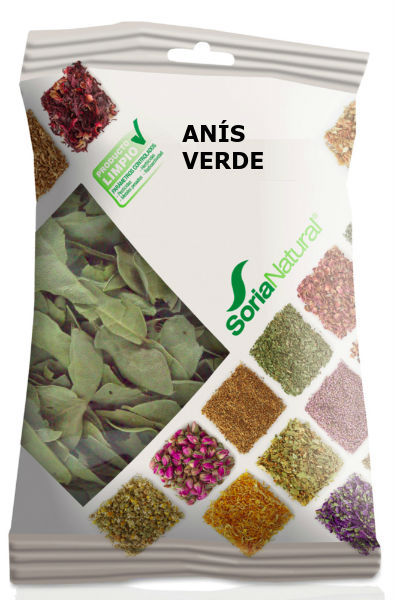 Green Anise Bag 100 grams of Soria Natural