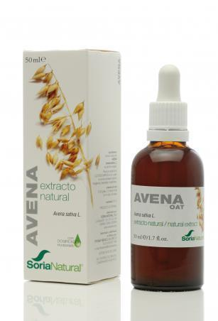 Extracto de Avena 50 ml de Soria Natural