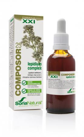 Composor 25 Lepidium Complex 50 ml de Soria Natural