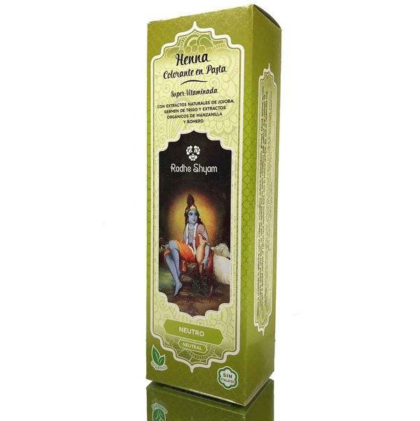 Henna en pasta color neutro 200 ml de Radhe Shyam