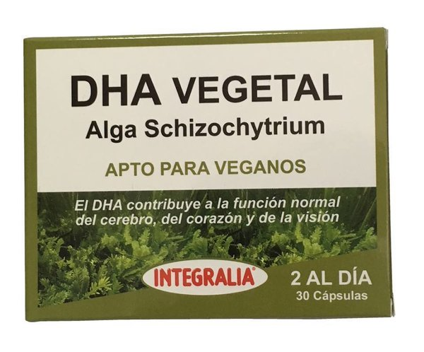 Vegetable DHA 30 capsules of Integralia