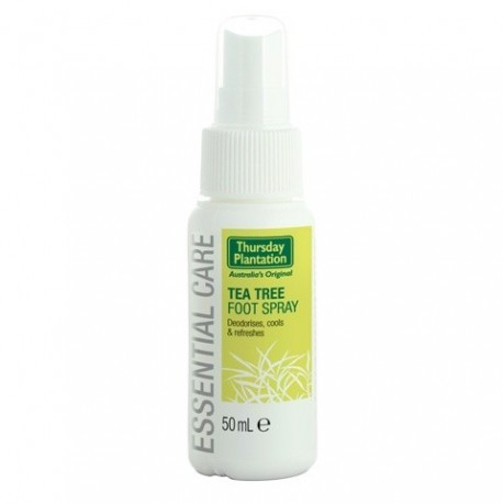 Spray pies de árbol de té 50 ml de Thursday Plantation