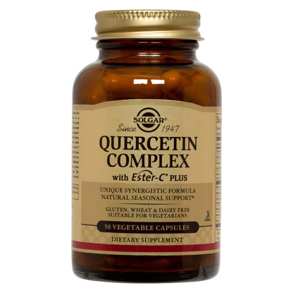 Quercitin Complex with Ester-C® Plus 50 Vegetable Capsules from Solgar