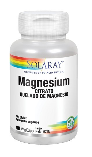 Magnesium citrate 90 capsules by Solaray
