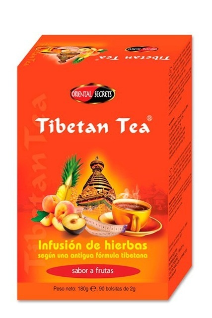 Tibetan Tea Fruit Flavored Herb Infusion 90 Filters