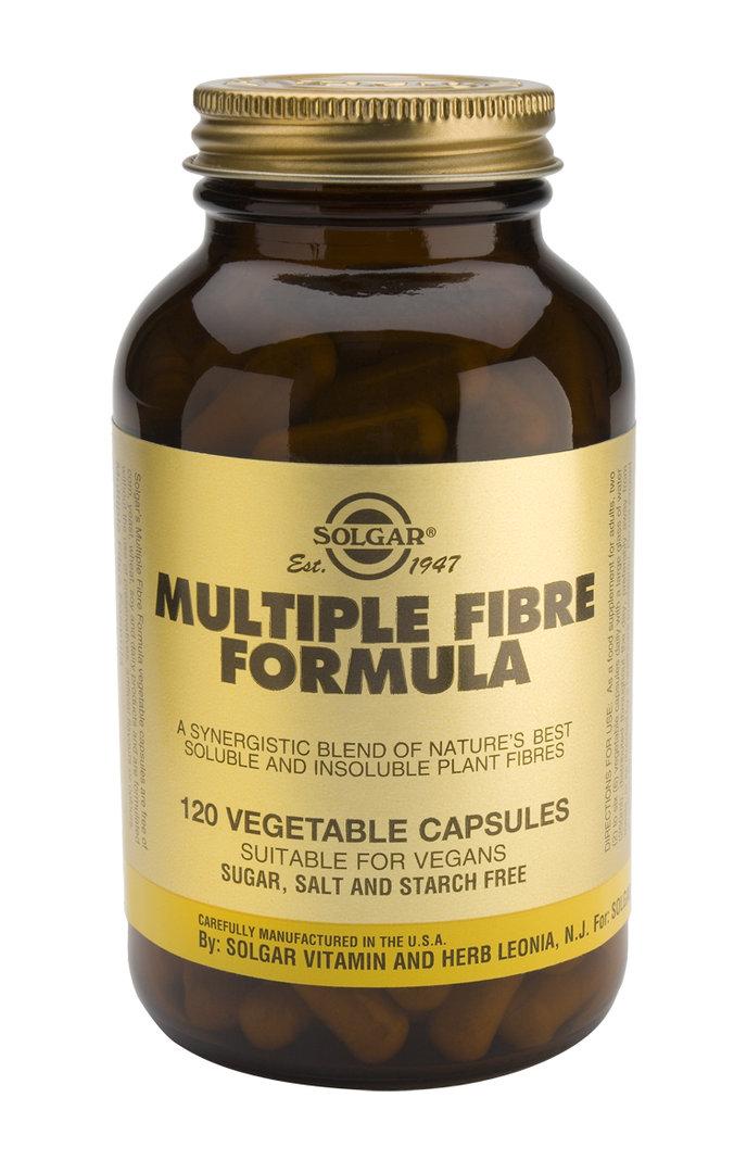 Multiple fiber formula 120 caps / Solgar - Herbolario Allium
