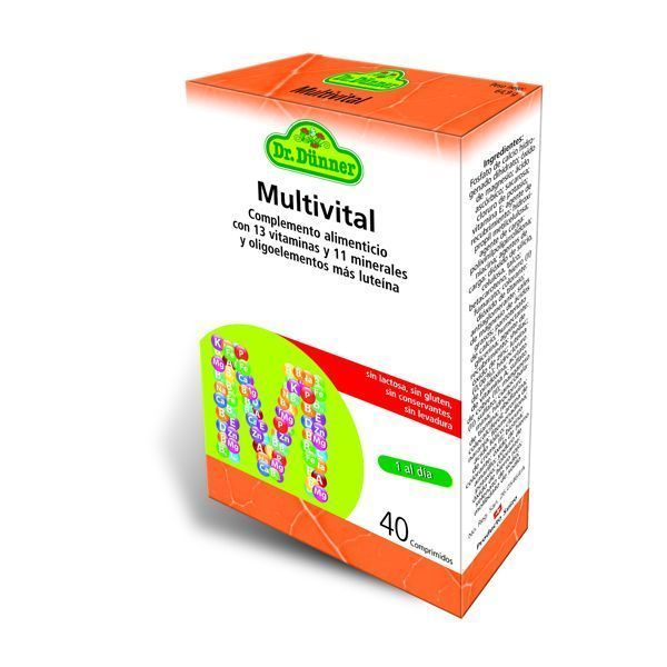 Multivital 40 tablets by Dr Dunner
