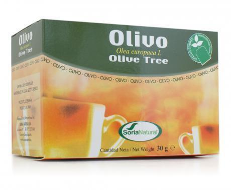 Olivo Infusion 20 envelopes of Soria Natural