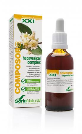 Composor 3 Hepavesical Boldo Complex 50 ml de Soria Natural