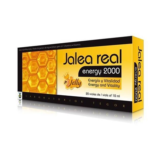 Jalea Real Energy 2000 de Laboratorios Tegor