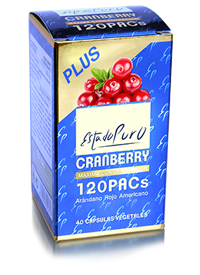 Cranberry 120 PACs estado puro 40 cápsulas de Tongil