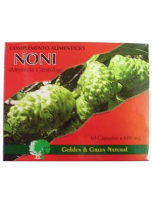 Noni 60 cápsulas de Golden & Green