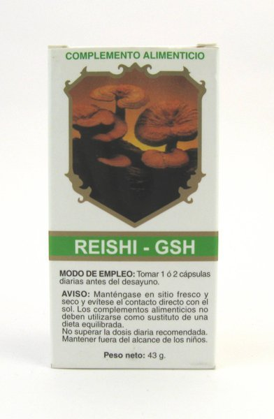 Reishi GSH 120 cápsulas de Golden & Green