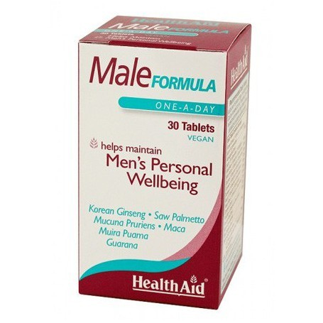 Male Formula Men's Personal Webbeing 30 tablets of Health Aid